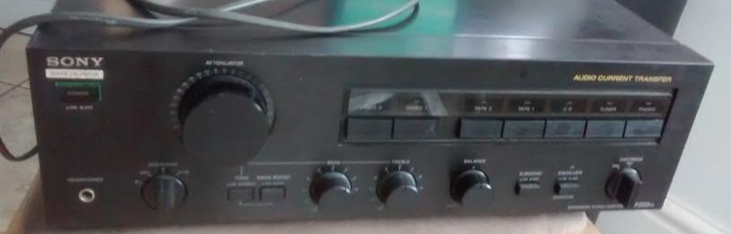 Sony amplifier repair